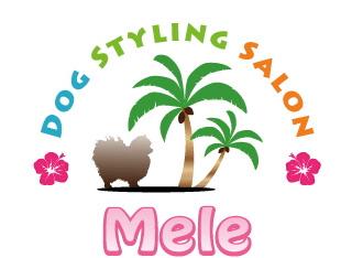 ハワイ風のロゴ