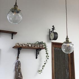 カフェのような飾りがある店内