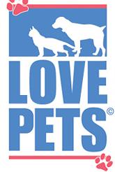 犬と猫のイラストが書かれたロゴ