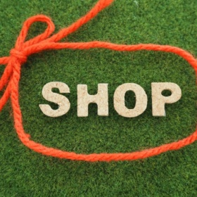 お店のロゴ例