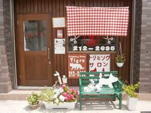 ティグレのおしゃれな店舗