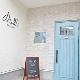 ペットサロンmimiの青い扉
