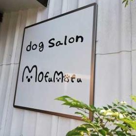 モフモフ西山崎店のロゴ